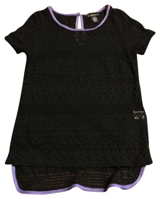 Preload https://img-static.tradesy.com/item/10540693/black-and-lavender-blouse-size-4-s-0-1-650-650.jpg