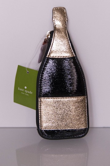 Kate Spade Kate Spade Bubble Over Champagne Coin Purse Black