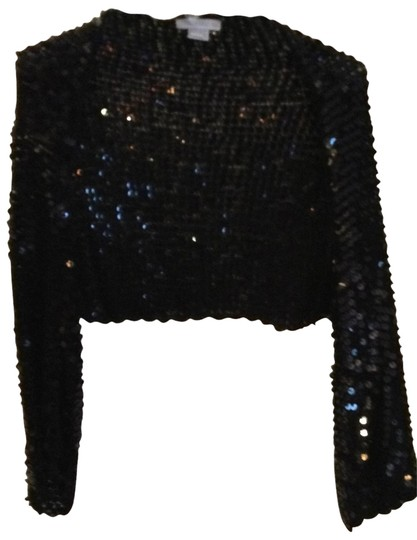 Harrison Morgan Sequined Evening Shrug