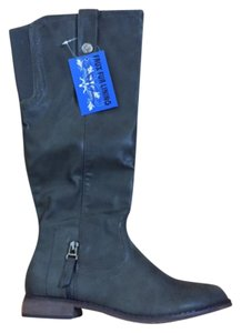 De Blossom Collection Grey Boots