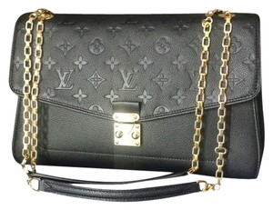 Louis Vuitton Empreinte Chains Saint-germain Mm Shoulder Bag