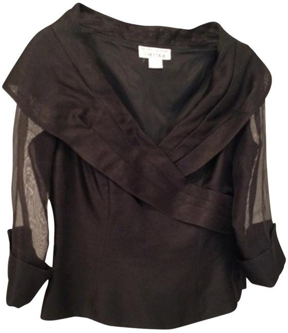 Sherrie Bloom Peter Noviello, Chetta B Top Black silk
