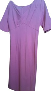 Charles Chang Lima short dress pink on Tradesy