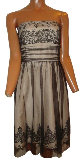 DB Studio Tulle Beaded Lace Semi-formal Night Out Dress