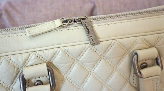 Chanel Tote in Off White/Ivory