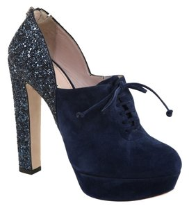 Miu Miu Dark Blue, Navy Platforms