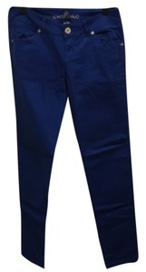 Almost Famous Clothing Skinny Pants Blue