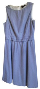 Brooks Brothers short dress Blue/white on Tradesy