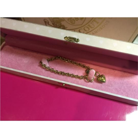 Juicy Couture NEW!! RARE & ADORABLE JUICY COUTURE SMALL GOLD CHARM BRACELET WITH GOLD HEART CHARM!!