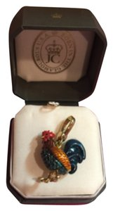 Juicy Couture NWT! Juicy Couture IMPOSSIBLE TO FIND SHIMMERING ROOSTER CHARM