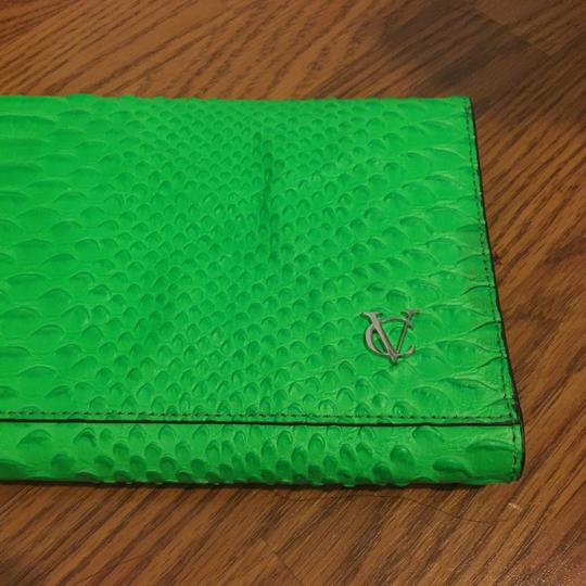 Vince Camuto neon green Clutch