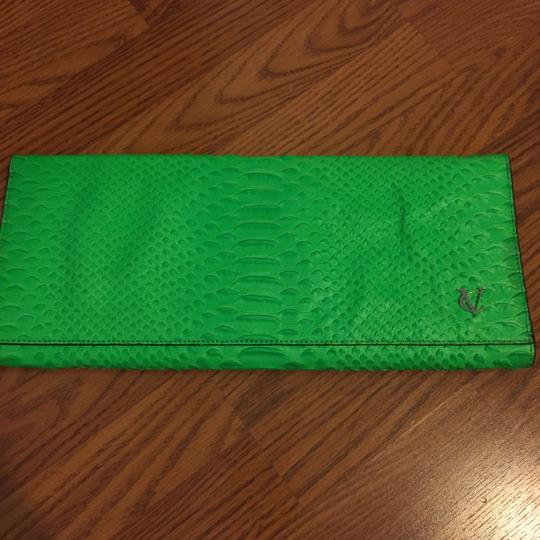 Vince Camuto neon green Clutch Image 3