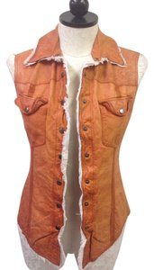 Jakett New York Leather Vest