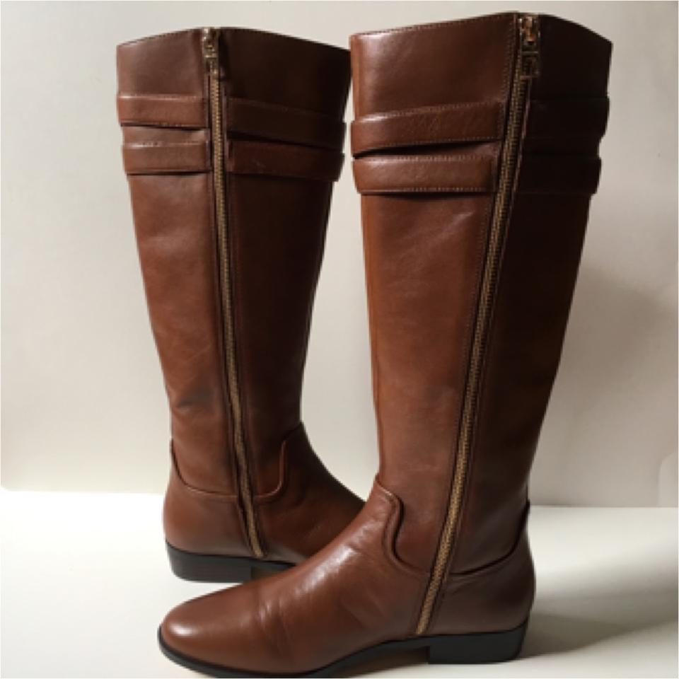 coach cognac linette calf boots size us 8 regular m b from kelly on tradesy. Black Bedroom Furniture Sets. Home Design Ideas
