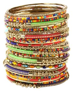 Amrita Singh Amrita Singh Tutti Frutti Bangle (Set of 32)