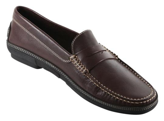 Preload https://item3.tradesy.com/images/tod-s-brown-men-s-loafer-mocassin-leather-barca-scarpa-uomo-flats-size-us-95-regular-m-b-10545622-0-1.jpg?width=440&height=440