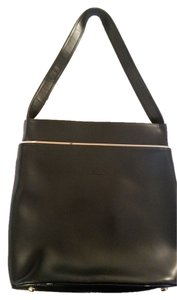 Longchamp Vintage Leather Shoulder Bag