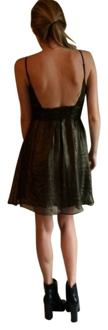 Preload https://item4.tradesy.com/images/max-studio-bronze-brown-black-metallic-backless-shimmer-m-above-knee-night-out-dress-size-4-s-10546903-0-1.jpg?width=400&height=650