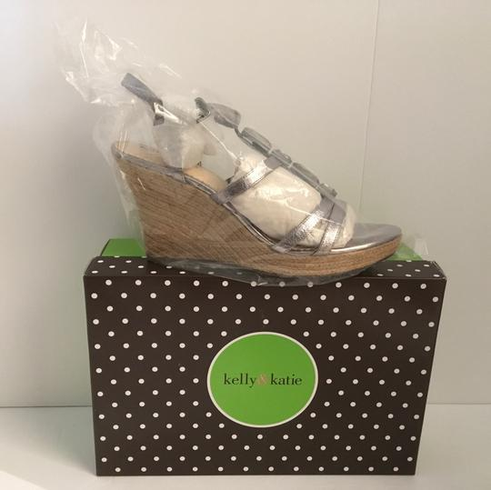 Kelly & Katie Metallic Wedges