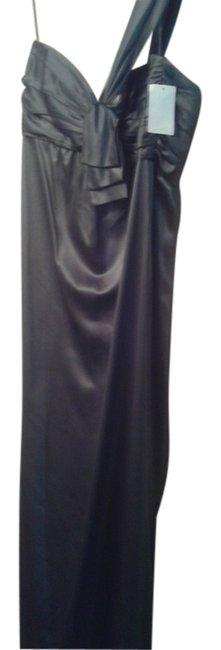 Preload https://item5.tradesy.com/images/blue-one-shoulder-sexy-shiny-long-night-out-dress-size-10-m-10547164-0-1.jpg?width=400&height=650