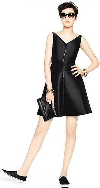 Preload https://item4.tradesy.com/images/kate-spade-black-zip-up-msrp-above-knee-cocktail-dress-size-6-s-10547173-0-1.jpg?width=400&height=650