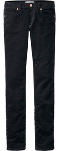 Uniqlo Straight Pants Black