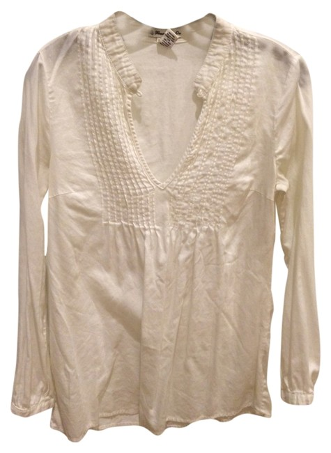 Preload https://item3.tradesy.com/images/forever-21-white-tunic-size-4-s-1054752-0-0.jpg?width=400&height=650