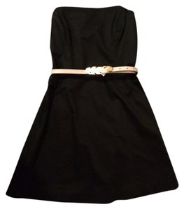 White House | Black Market short dress Black Strapless Summer Jcrew Gap Bcbg Lbd Formal on Tradesy