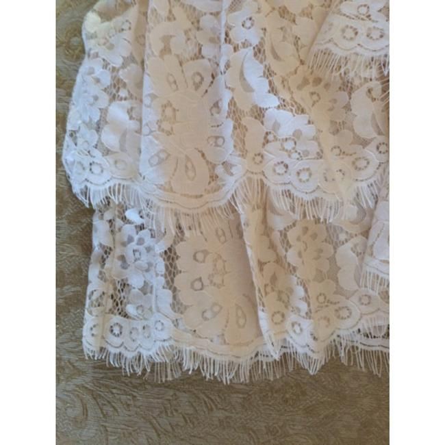 Ann Taylor short dress cream white lace on Tradesy