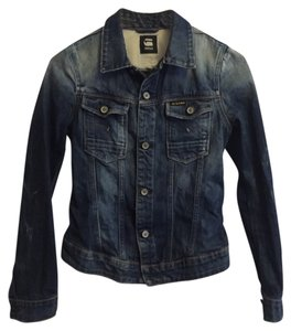 G-Star RAW Washed Denim Womens Jean Jacket