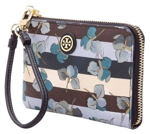 Tory Burch Wristlet Floral Spring Summer Phone Iphone Wallet Wallet