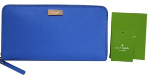 Kate Spade NEW!!! Tags Kate Spade New York Cobalt Blue Continental Wallet Clutch Bag Tags NWT!