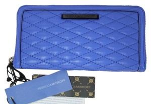 Rebecca Minkoff NEW Rebecca Minkoff Ultraviolet Blue Continental Quilted Wallet Clutch Bag Tags NWT!