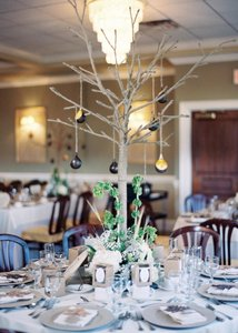 Rustic Jute Twine Tree Centerpiece (9 Available)