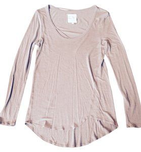 Chaser Raw Silk Blend Cut-out Raw Tunic