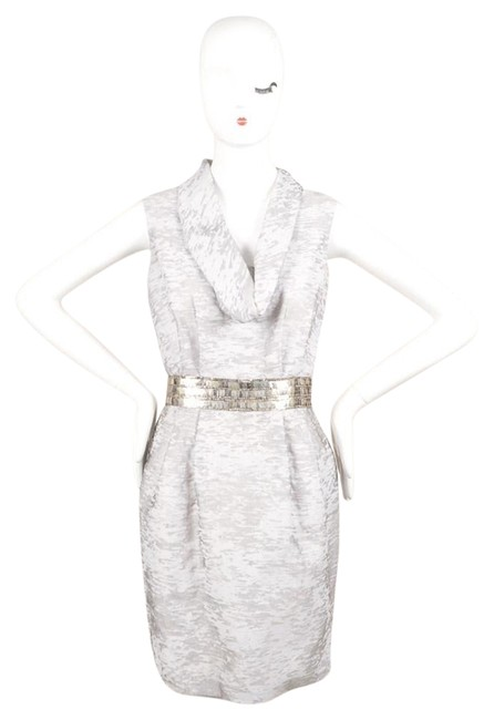 Preload https://img-static.tradesy.com/item/10549609/yigal-azrouel-silver-arctic-gray-beaded-cowl-burnout-sheath-short-cocktail-dress-size-4-s-0-11-650-650.jpg