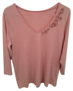 Old Navy Flower T Shirt Pink