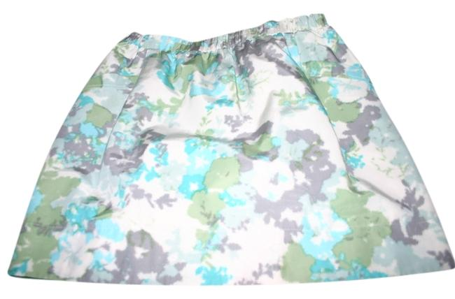 Preload https://item3.tradesy.com/images/halogen-turquoise-grees-and-blues-with-gray-and-white-accents-skirt-size-12-l-32-33-10549912-0-1.jpg?width=400&height=650