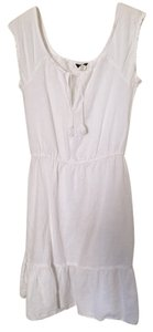 J.Crew short dress White Summer Spring Linen on Tradesy