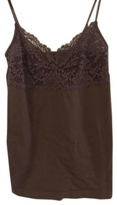 Banana Republic Top Brown Lace
