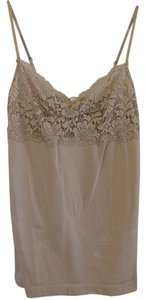 Banana Republic Top Beige Lace
