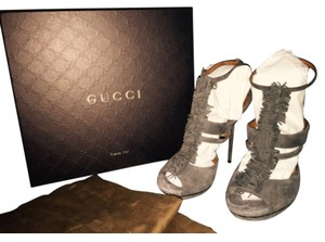 Gucci Grey Platforms