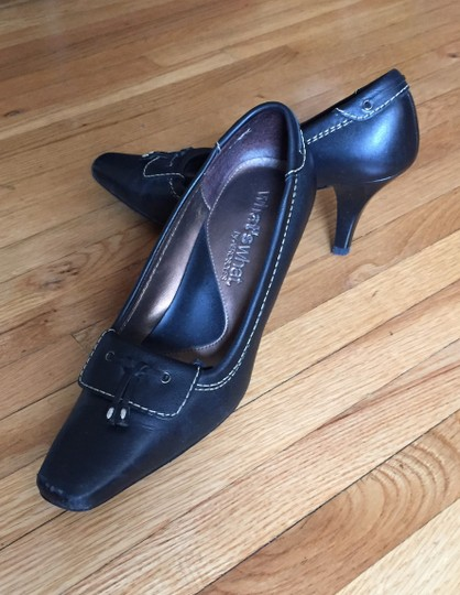 Aerosoles Leather Black Pumps