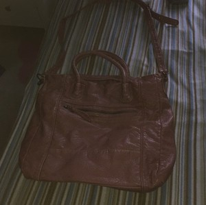 Forever 21 Tote in Pink Magenta