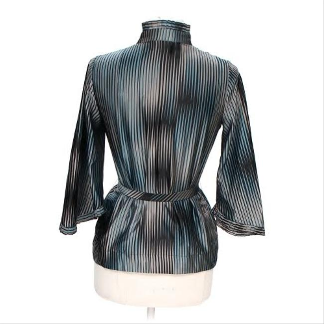 BCBGeneration Striped Belted Top