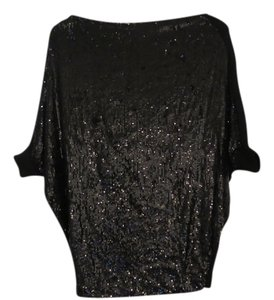 Tory Burch Top Black Sequin
