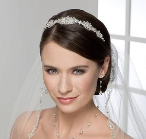 Stunning Crystal Filigree Bridal Headband