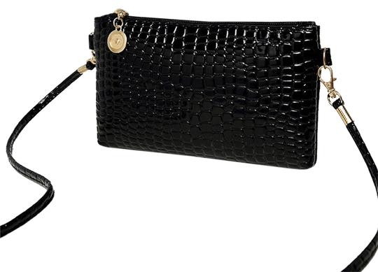Preload https://img-static.tradesy.com/item/10550773/bogo-messenger-clutch-handbag-free-shipping-black-pu-leather-cross-body-bag-0-1-540-540.jpg