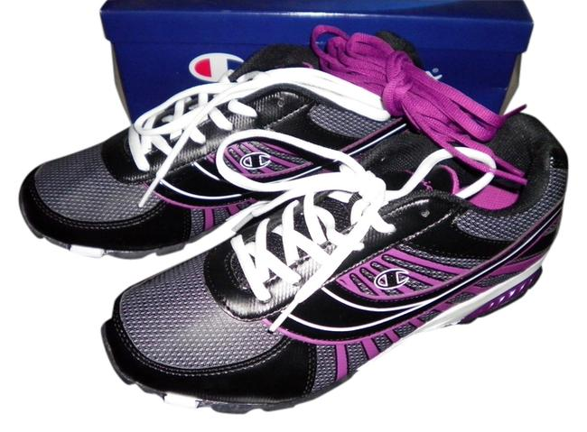 Item - Black & Purple Pretty and A Pink Color Two Sets Of Laces Firm New Unused Sneakers Size US 10 Regular (M, B)