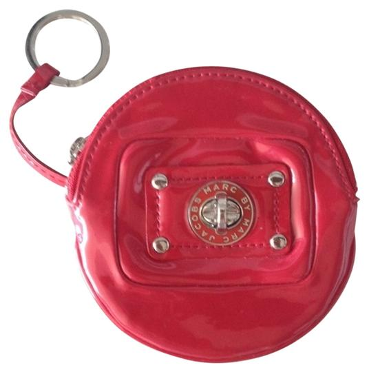 Marc by Marc Jacobs cherry red patent leather coin purse
